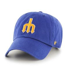 new style 24553 b506a Seattle mariners cooperstown  47 clean up