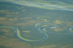 Noatak National Preserve, Alaska photo | picture of Oxbows On Noatak River Image