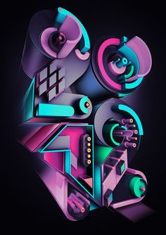 20 Creative Abstract Graphic Illustrations and Photo manipulations by Rik Oostenbroek