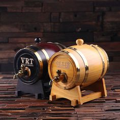 1.5 L Personalized Whiskey Barrel Unique Groomsmen, Men's Christmas, Man Cave Gift on Etsy, $70.20