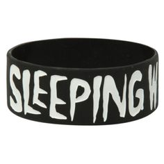 Sleeping With Sirens Anchor Rubber Bracelet   Hot Topic ($5.60) ❤ liked on Polyvore featuring jewelry, bracelets, accessories, rubber bracelets, bands, hot topic, rubber jewelry, rubber bangles, hot topic jewelry and anchor jewellery
