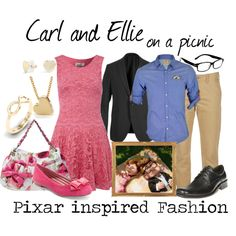 Carl and Ellie on a picnic - from Pixars Up by elliekayba on Polyvore