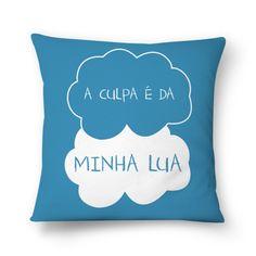 A CULPA É DA MINHA LUA  #almofada #pillows #astrology #astrologia #zodiac #zodíaco #art #signos #decor #decoração #moon #lua