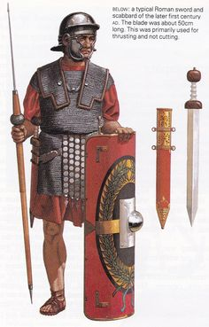 Reconstruction of an Eastern Legionary of the second half of the first century…