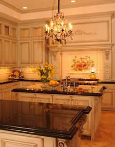 Beautiful Country French kitchen