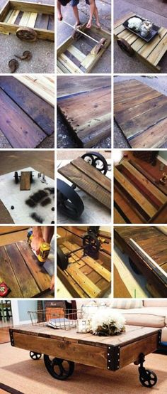 Pallet Coffee Table | Pallet Projects | Pinterest | Pallet Coffee Tables,  Pallets And Coffee