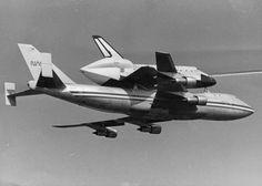 South Belt Houston Digital History Archive: The Space Shuttle Enterprise at Ellington AFB