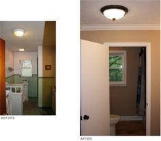 Bath Partition & Window - Renovation