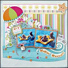 Fun Makin' Waves! - Scrapbook.com