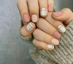 44 Cute Nail Polish Manicure for Spring - Nails - Unhas Minimalist Nails, Minimalist Fashion, Cute Nail Polish, Cute Gel Nails, Cute Pink Nails, Gel Nail Polish Colors, Soft Nails, Manicure Colors, Nail Polish Designs