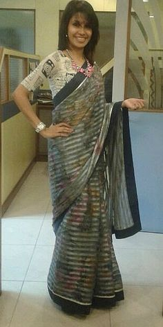Sari  by Ayush Kejriwal , To find out more about my brand  or purchases visit my…
