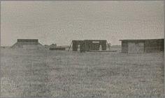 Schietbaan bij Leeuwarder Kalverdijkje, waar de Duitsers mensen gefusilleerd hebben.