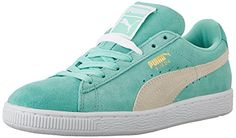 0d6f36c645f PUMA Women s Suede Classic Sneaker Lace-up sneaker with suede upper  featuring signature Formstrip overlays and gold-tone branding at lateral  side and ...