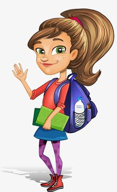 Cartoon Female Students Cartoon Vector Cartoon Female Students PNG Transparent Clipart Image and PSD File for Free Download Cartoon Cartoons vector Character design