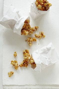 Caramel Salted Popcorn.