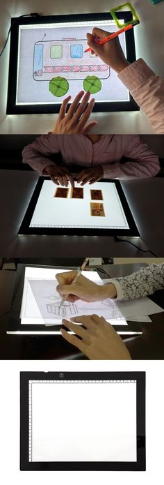 a4 sketch drawing pad led stencil tracing tattoo light box copy board tracer us light boxes pads pinterest lights and ebay