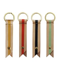 Stripe Keyrings - Bl