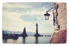 Hafen in Lindau (Bodensee) via flickr http://flic.kr/p/omxdP7