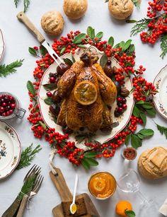 Le compte à rebours acommencé! Il faut écrire et trouver de l'inspiration pour le repas de Noël dans 15 jours-tic tac tic tac! -Grosse Pression- Une fois n'est pas coutume, La dinde de Noël fera...