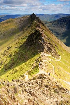 Striding Edge, Helvellyn, Lake District, Cumbria, England (by Gary Turnbull)