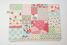 Cute patchwork placemat that @Natalie Haynes should check out