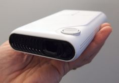 The TouchPico Projector can turn any flat surface into an interactive screen.