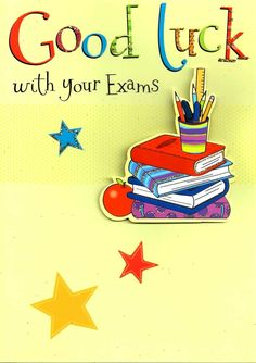 Details About Good Luck With Your Exams Greeting Card Flittered Glitter Lucky Cards for Good Luck Card Template - Great Professional Templates Id Card Template, Free Business Card Templates, Greeting Card Template, Greeting Cards, Best Wishes For Exam, Exam Wishes, Good Luck For Exams, Good Luck Cards, Glitter Lucky