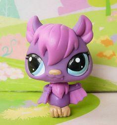 LITTLEST PET SHOP(1342)-Purple Vampire Bat #1926