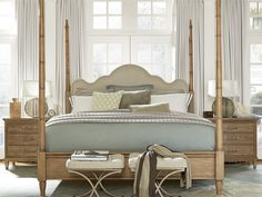 Universal Furniture Moderne Muse Queen Maison Poster Bed