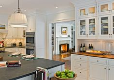 kitchen love the slate floor kitchen archway see more 4 soapstone ...