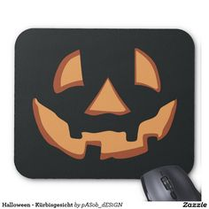 #Halloween - free #style until #face #mouse #pad on #Zazzle