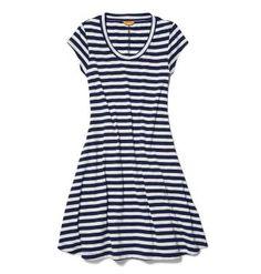 Joe Fresh Womens Stripe Swing Dress - as comfy as pjs, but way more stylish