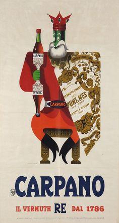 Carpano, di Armando Testa, 1955 ca