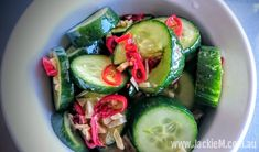 How to Make Cucumber and Garlic Salad - Jackie M