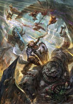 Finale by ivangod. DeviantART Entry for Heroes of the storm ultimate fan art contest. Diablo Characters, Fantasy Characters, Heroes Of The Storm, Character Portraits, Character Art, Tao, Tumblr, Creature Concept, Fantastic Art