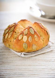 Chickpea Flour Bread With Pumpkin Seeds