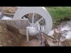 ❧ Water wheel power Water Wheel Generator, Water Turbine Generator, Solar Generator, Hydroelectric Power, Water Powers, Solar Energy, Water Energy, Alternative Energy, Green