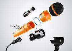 Go Audio by MDI, via Behance