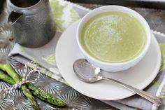 Cream of Asparagus soup #recipe