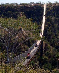 Los Cabos Baja California Sur, MÉXICO  el puente colgante más grande del mundo!