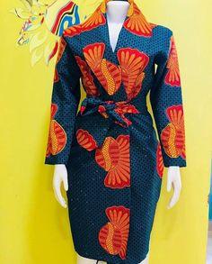 Latest Ankara Dress Styles - Loud In Naija : Ankara short dress African Fashion Designers, African Fashion Ankara, African Inspired Fashion, African Print Fashion, Africa Fashion, Ankara Dress Styles, African Print Dresses, African Dress, African Attire