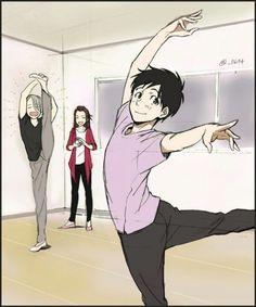 Viktor & Yuri took ballet class together http://pinterest.com/pin/739927413748594727/?source_app=android