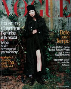 Vogue Italia July 1993: Shalom Harlow by Steven Meisel