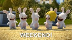 New party member! Tags: friday weekend tgif rabbids lapinscretins