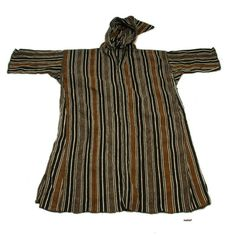 Africa | Overcoat ~ 'djellaba' ~ from the Ait Atta people of the Imilchil region of Morocco | Wool | 20th century