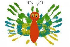 handprint animal crafts for kids (9)