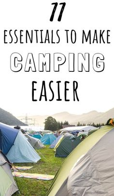 List of important family camping essentials not to forget on your first camping trip with kids. Includes useful camping gear for an easy vacation with kids. Camping Hacks, Camping Ideas, Camping Essentials Family, Couples Camping, Women Camping, Camping Activities, Family Camping, Tent Camping, Camping Stuff