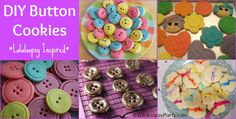 DIY Button Cookie Ideas | LalaloopsyParty.com