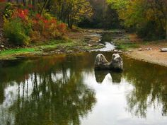 """""""Big Spring"""" near Cotter. Native Americans used this area as a meeting place, by Celeste Seigman"""