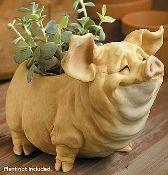 Penelope Large Pig Planter